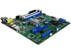 AsRock Rack E3C222D4U uATX Server Motherboard LGA 1150 Intel C222 DDR3 1600 / 1333 ECC DIMM