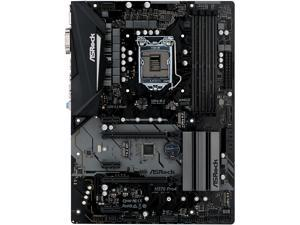 ASRock H370 Pro4 LGA 1151 (300 Series) Intel H370 HDMI SATA 6Gb/s USB 3.1 ATX Intel Motherboard