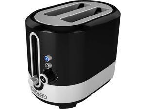 BD 2 Slice Toaster Black