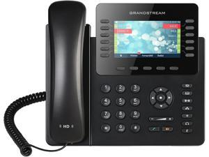 Grandstream Our most powerful Enterprise IP phone, the GXP2170 supports up to 12 lines and 6