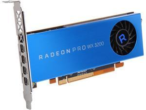 AMD Radeon Pro WX 3200 100-506115 4GB 128-bit GDDR5 PCIe 3.0 x16 (x8 Electrical) Low Profile Workstation Video Card