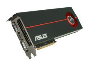 ASUS Radeon HD 5970 DirectX 11 EAH5970/2DIS/2GD5 2GB 512 (256 x 2)-Bit GDDR5 PCI Express 2.1 x16 HDCP Ready CrossFireX Support Dual GPU Onboard CrossFire Video Card w/ Eyefinity