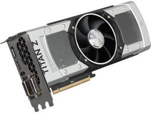 ASUS GTXTITANZ-12GD5 G-SYNC Support GeForce GTX TITAN Z 12GB 768-Bit GDDR5 PCI Express 3.0 HDCP Ready SLI Support Video Card