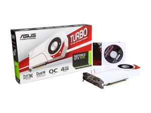 ASUS GeForce GTX 970 TURBO-GTX970-OC-4GD5 4GB 256-Bit GDDR5 PCI Express 3.0 HDCP Ready SLI Support Video Card