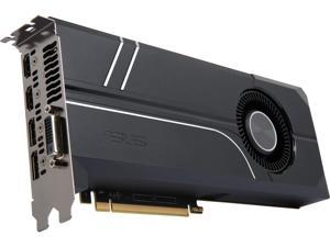 ASUS Turbo GeForce GTX 1070 Ti TURBO-GTX1070TI-8G 8GB 256-Bit GDDR5 PCI Express 3.0 HDCP Ready SLI Support Video Card