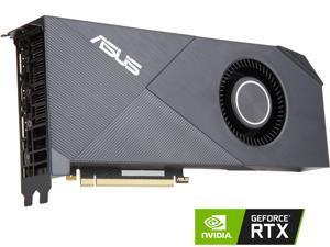 ASUS Turbo GeForce RTX 2080 DirectX 12 TURBO-RTX2080-8G 8GB 256-Bit GDDR6 PCI Express 3.0 HDCP Ready Video Card