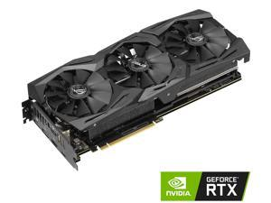 ASUS ROG Strix GeForce RTX 2070 DirectX 12 ROG-STRIX-RTX2070-8G-GAMING 8GB 256-Bit GDDR6 PCI Express 3.0 HDCP Ready Video Card