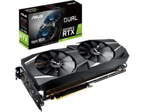 ASUS Dual GeForce RTX 2070 DirectX 12 DUAL-RTX2070-A8G 8GB 256-Bit GDDR6 PCI Express 3.0 HDCP Ready Video Card