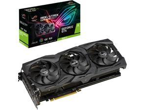 ASUS ROG Strix GeForce GTX 1660 Ti ROG-STRIX-GTX1660TI-O6G-GAMING 6GB 192-Bit GDDR6 PCI Express 3.0 HDCP Ready Video Card