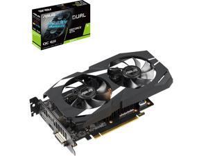 ASUS Dual GeForce GTX 1660 Ti DUAL-GTX1660TI-O6G 6GB 192-Bit GDDR6 PCI Express 3.0 HDCP Ready Video Card