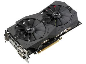 ASUS AREZ Strix Radeon RX 570 AREZ-STRIX-RX570-O4G-GAMING 4GB 256-Bit GDDR5 PCI Express 3.0 HDCP Ready Video Card