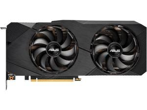 ASUS GeForce RTX 2070 Super Overclocked 8G EVO GDDR6 Dual-Fan Edition VR Ready HDMI DisplayPort Gaming Graphics Card (DUAL-RTX2070S-O8G-EVO)