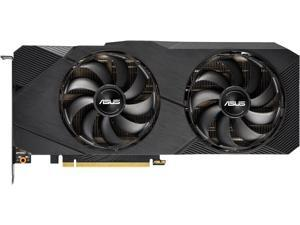 ASUS GeForce RTX 2080 SUPER Overclocked 8G GDDR6 Dual-Fan EVO Edition VR Ready HDMI DisplayPort 1.4 Graphics Card (DUAL-RTX2080S-O8G-EVO)