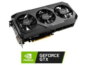 ASUS TUF Gaming X3 GeForce GTX 1660 SUPER DirectX 12 TUF 3-GTX1660S-O6G-GAMING 6GB 192-Bit GDDR6 PCI Express 3.0 HDCP Ready Video Card