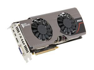 MSI Radeon HD 7950 DirectX 11 R7950 Twin Frozr 3GD5/OC 3GB 384-Bit GDDR5 PCI Express 3.0 x16 HDCP Ready CrossFireX Support Video Card