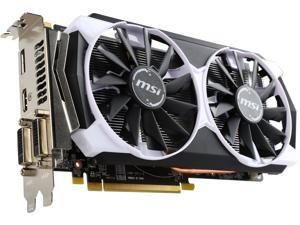 MSI Radeon R7 370 DirectX 12 R7 370 2GD5T OC 2GB 256-Bit GDDR5 PCI Express 3.0 x16 HDCP Ready CrossFireX Support ATX Video Card