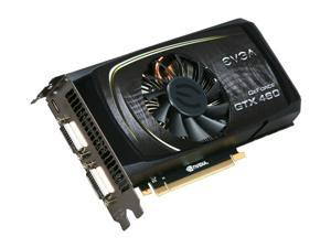 EVGA 768-P3-1362-TR GeForce GTX 460 (Fermi) Superclocked 768MB 192-bit GDDR5 PCI Express 2.0 x16 HDCP Ready SLI Support Video Card