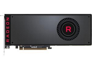 PowerColor Radeon RX VEGA 64 DirectX 12 AXRX VEGA 64 8GBHBM2-3DH 8GB 2048-Bit HBM2 PCI Express 3.0 CrossFireX Support ATX Video Card Fan Cooled (Black)