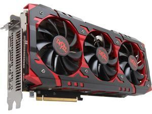 PowerColor Radeon RX Vega 64 DirectX 12 AXRX VEGA 64 8GBHBM2-2D2H/OC 8GB 2048-Bit HBM2 PCI Express 3.0 CrossFireX Support ATX Video Card