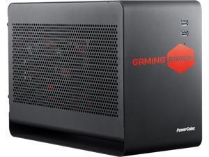 PowerColor Gaming Station - Thunderbolt 3 eGFX Enclosure for Windows 10 & macOS High Sierra, One X16 PCIe Slot