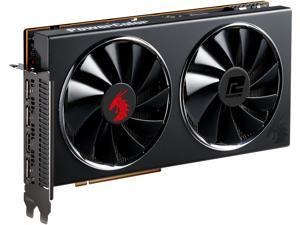 PowerColor RED DRAGON Radeon RX 5700 XT DirectX 12 AXRX 5700 XT 8GBD6-3DHR/OC 8GB 256-Bit GDDR6 PCI Express 4.0 CrossFireX Support ATX Video Card