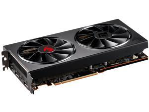 PowerColor RED DRAGON Radeon RX 5600 XT DirectX 12 AXRX 5600XT 6GBD6-3DHR/OC 6GB 192-Bit GDDR6 PCI Express 4.0 CrossFireX Support ATX Video Card