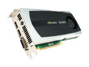 PNY Quadro 6000 VCQ6000-PB 6GB 384-bit GDDR5 PCI Express 2.0 x16 Workstation Video Card