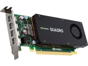 PNY Quadro K1200 VCQK1200DP-PB 4GB 128-bit GDDR5 PCI Express 2.0 ATX or SFF Workstation Video Card for DisplayPort
