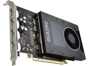 PNY Quadro P2000 VCQP2000-PB 5GB 160-bit GDDR5 PCI Express 3.0 x16 Video Cards - Workstation