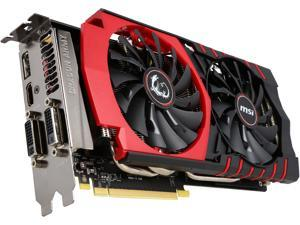 MSI GeForce GTX 970 DirectX 12 VDGTX970GM4G 4GB 256-Bit GDDR5 PCI Express 3.0 x16 HDCP Ready SLI Support Video Card