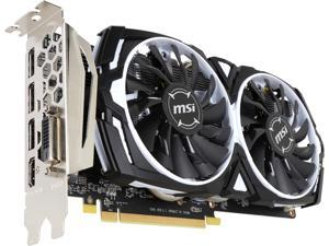 MSI Radeon RX 570 DirectX 12 RX 570 ARMOR 4G OC 4GB 256-Bit GDDR5 PCI Express 3.0 x16 HDCP Ready CrossFireX Support ATX Video Card