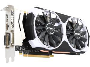 MSI GeForce GTX 970 DirectX 12 GTX 970 4GD5T OC 4GB 256-Bit GDDR5 PCI Express 3.0 x16 HDCP Ready SLI Support Video Card