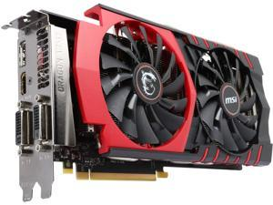 MSI GeForce GTX 970 DirectX 12 GTX 970 GAMING 4G 4GB 256-Bit GDDR5 PCI Express 3.0 x16 HDCP Ready SLI Support G-SYNC Support Video Card