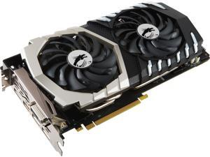 MSI GeForce GTX 1070 Ti DirectX 12 GTX 1070 Ti Titanium 8G 8GB 256-Bit GDDR5 PCI Express 3.0 x16 HDCP Ready SLI Support ATX Video Card