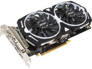 MSI Radeon RX 570 DirectX 12 RX 570 ARMOR 8G OC 8GB 256-Bit GDDR5 PCI Express x16 HDCP Ready CrossFireX Support ATX Video Card
