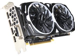 MSI Radeon RX 570 DirectX 12 RADEON RX 570 ARMOR 4G OC 4GB 256-Bit GDDR5 PCI Express x16 HDCP Ready CrossFireX Support ATX Video Card