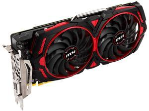 MSI Radeon RX 580 DirectX 12 RX 580 ARMOR MK2 8G OC 8GB 256-Bit GDDR5 PCI Express x16 HDCP Ready CrossFireX Support Video Card