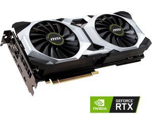 MSI GeForce RTX 2080 DirectX 12 RTX 2080 VENTUS 8G OC 8GB 256-Bit GDDR6 PCI Express 3.0 x16 HDCP Ready SLI Support Video Card