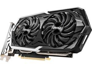 MSI GeForce GTX 1660 Ti DirectX 12 GTX 1660 TI ARMOR 6G OC 6GB 192-Bit GDDR6 PCI Express 3.0 x16 HDCP Ready Video Card