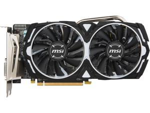 MSI Radeon RX 570 DirectX 12 RX 570 ARMOR 4G OCV1 4GB 256-Bit GDDR5 PCI Express 3.0 x16 HDCP Ready CrossFireX Support ATX Video Card