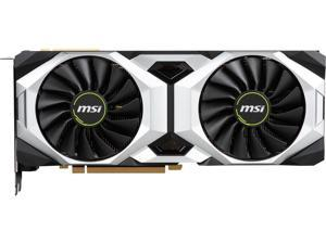 MSI GeForce RTX 2080 SUPER DirectX 12 RTX 2080 Super Ventus OC 8GB 256-Bit GDDR6 PCI Express 3.0 x16 HDCP Ready SLI Support Video Card