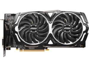 MSI Radeon RX 580 DirectX 12 RX 580 ARMOR X 8GB 256-Bit GDDR5 PCI Express x16 HDCP Ready CrossFireX Support Video Card