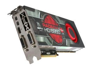 XFX Radeon HD 6950 DirectX 11 HD-695A-CNFC 2GB 256-Bit GDDR5 PCI Express 2.1 x16 HDCP Ready CrossFireX Support Video Card with Eyefinity