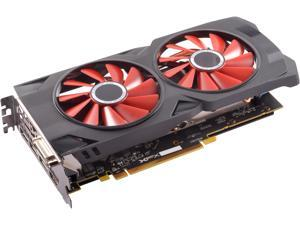 XFX RS XXX Edition Radeon RX 570 DirectX 12 RX-570P427D6 4GB OC+ 1284 MHz XFX Custom Backplate 256-Bit DDR5 PCI Express 3.0 CrossFireX Support Video Card