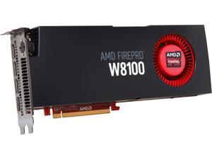 AMD FirePro W8100 100-505976 8GB 512-bit GDDR5 PCI Express 3.0 x16 CrossFire Supported Workstation Video Card