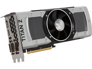 EVGA GeForce GTX TITAN Z 12G-P4-3992-KR 12GB SC GAMING, Fastest NVIDIA GPU Graphics Card