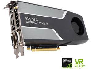 EVGA GeForce GTX 970 DirectX 12 04G-P4-1972-RX 4GB 256-Bit GDDR5 PCI Express 3.0 SLI Support Superclocked G-SYNC Support Video Card