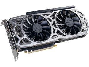 EVGA GeForce GTX 1080 Ti SC2 GAMING, 11G-P4-6593-KR, 11GB GDDR5X, iCX Technology - 9 Thermal Sensors & RGB LED G/P/M