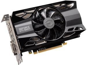 EVGA GeForce GTX 1660 Ti XC Black GAMING, 06G-P4-1261-KR, 6GB GDDR6, HDB Fan