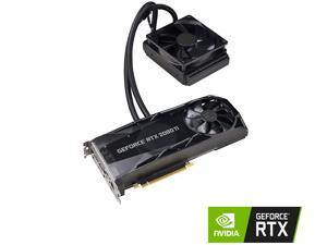 EVGA GeForce RTX 2080 Ti XC HYBRID GAMING, 11G-P4-2384-KR, 11GB GDDR6, HYBRID, RGB LED Logo, Metal Backplate